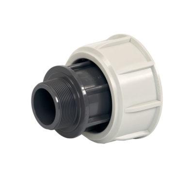 Adapter AG PP mit Spezial-Überwurfmutter, d 75