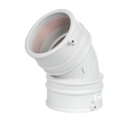 LightFit Winkel 45°, Schweißmuffe-Schweißmuffe