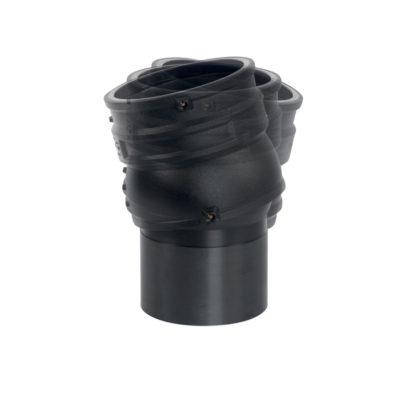 Flexwinkel, flexible Anschlussmuffe 0-12°, PE 80