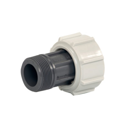 Adapter AG PP mit Spezial-Überwurf-mutter, d 25 - 63
